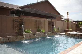 Tribal waters phoenix pool builders top pool builders for Top pool builders